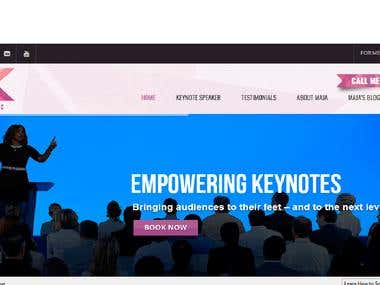 SEO For Motivational Speaker Website