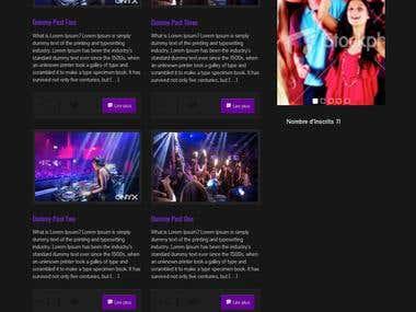 Website for club