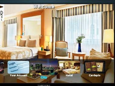 Samsung Smart TV - Web App