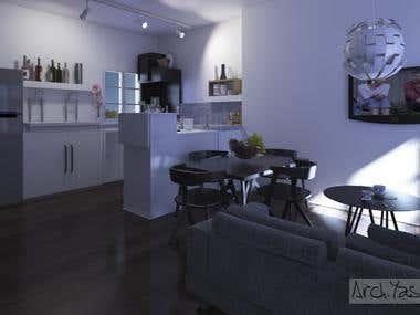 minimalism style/Apartment/America