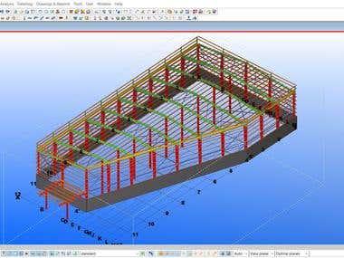 Tekla Structures - Model Samples