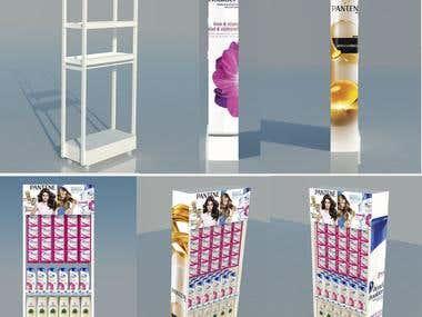 design of module for shampoo