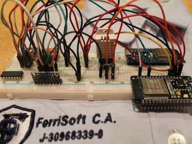 ESP32 + Arduino Programming.
