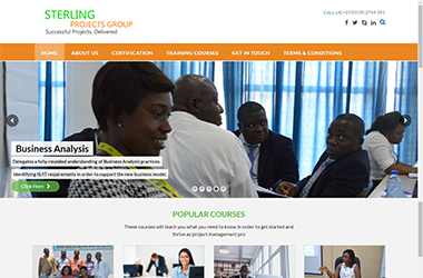 Sterling - Online E-Learning Site