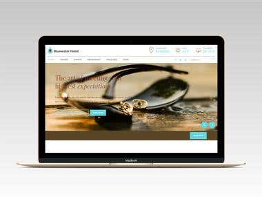 BWH Hotel Booking Website Development