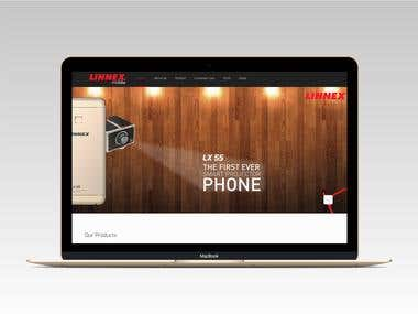 Lennex Mobile Company Website
