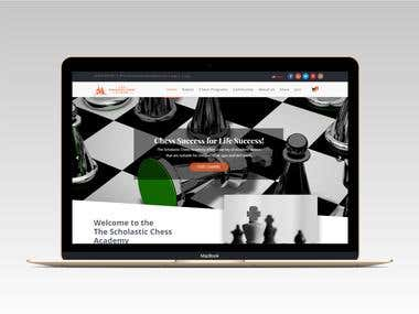 Chess Academy Website Development