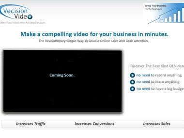 Innovative Video Company Website Design