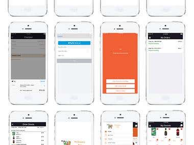 Grocery IOS App