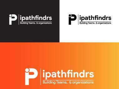 Ipathfindrs logo design