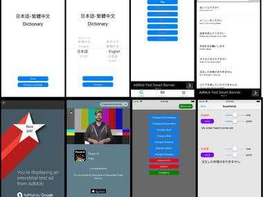 Multi Language Dictionary App