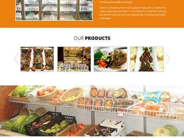 Supermarket Site