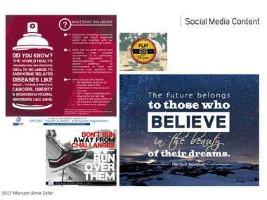 Social Media and Web Content (multiple samples)