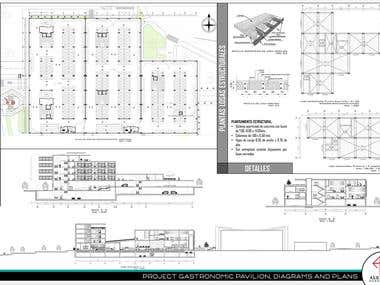 2D digitization, Realization of autocad drawings