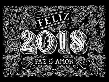 Feliz 2018 - Happy New Year