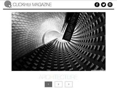 DESIGN - Website Magazine