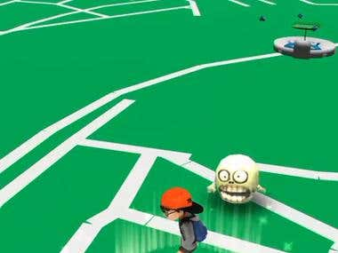 Pokemon Go Clone