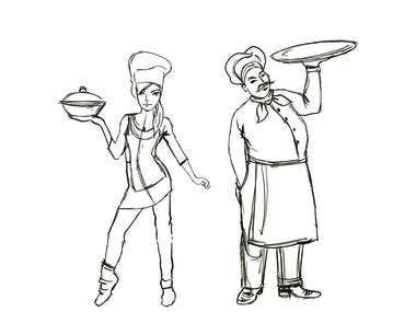 WE ARE COOKING sketch