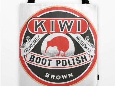 Graphic Design - Vintage Kiwi