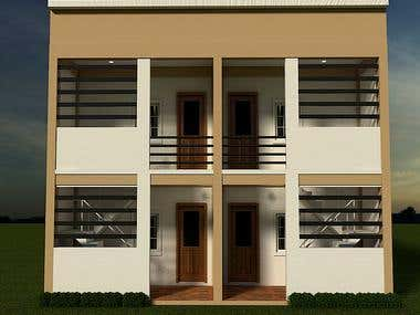 PROPOSED TWO STOREY APARTMENT