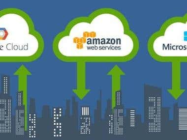 aws, google cloud