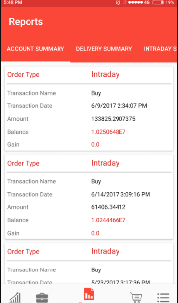 Metabull Trading Android Application