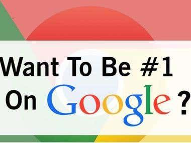 Google 1st page ranking SEO