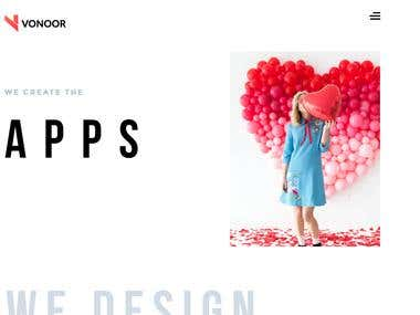 Company Intro Website