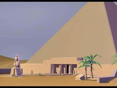 Toony Pyramid Environment