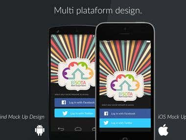 App Design multi-plataform