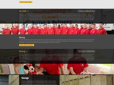 Firefighters Finest website design