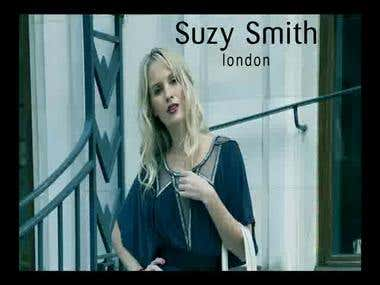 SUZY SMITH commercial - After effects