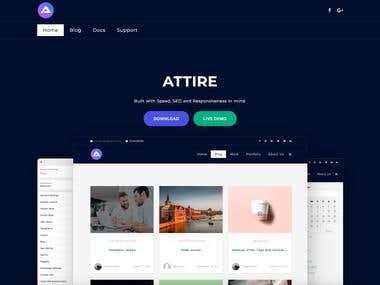Attire WordPress Theme