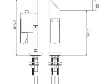 Technical drawings of water equipment