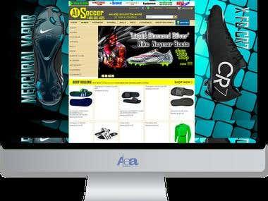A1 Soccer Website