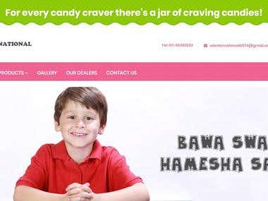 CANDY WEBSITE