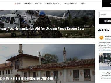 Website for newschannel
