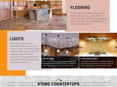 Homepage Design For Metis Construction