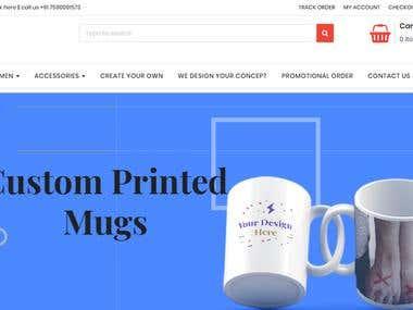 LM DOT (T-Shirt designing website)
