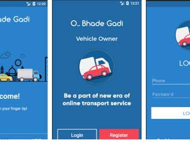 Bhadegadi Android app