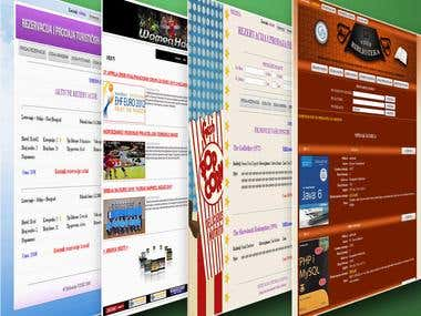 Web Applications for Students Projects-DESIGN IS UNIMPORTANT