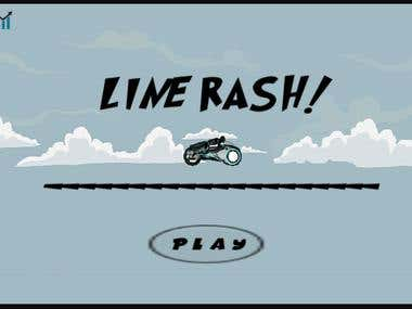 LineRash Game Project
