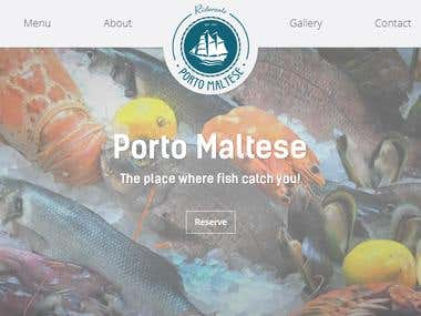 Portomaltese - site for restaurant