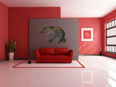 Design Bear Under Interior