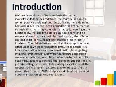 Tedbed Presentation