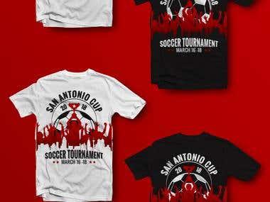 Soccer Tournament T-Shirt