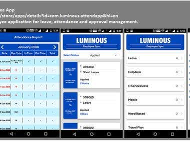 Luminous Employee App