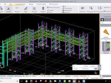 TEKLA DETAILING OF INDUSTRIAL PROJECTS EIL STANDARDS