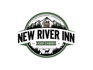 New River Inn vintage logo