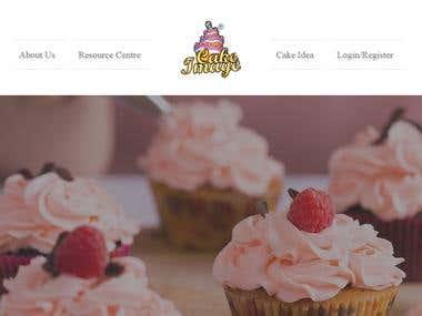 Bakersville (Cake designing website)